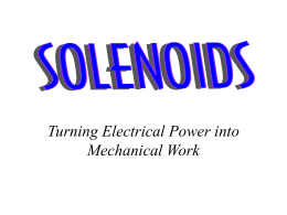 How a Solenoid Works.