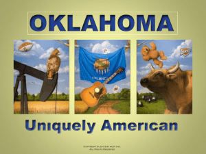 CHAPTER 1 - Oklahoma Uniquely American