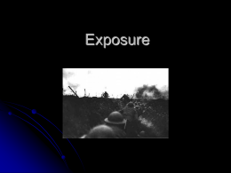 Exposure - WordPress.com