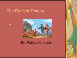 The Earliest Texans