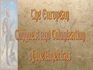 European Conquest and Colonization