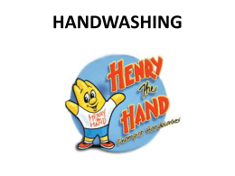 Handwashing Tips