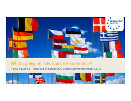 Ecommerce Europe - Global E