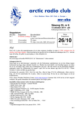 MVE 55-6 - Shortwave Bulletin