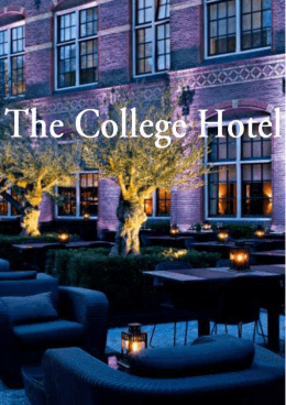kleine kaartx - The College Hotel