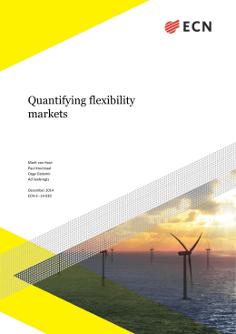 Quantifying flexibility markets
