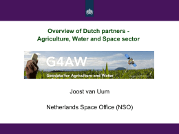 G4AW Overview Dutch Partners