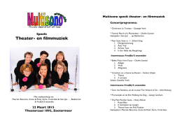 Programma tbv website - Fluit