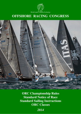 Green Book - Offshore Racing Council