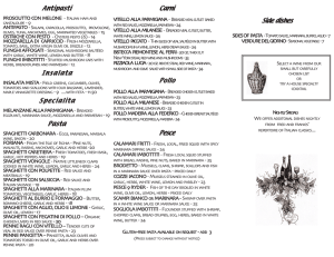 menu brochure - click to view