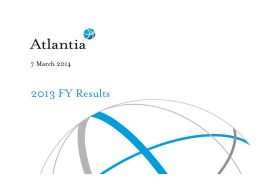 2013 FY Results