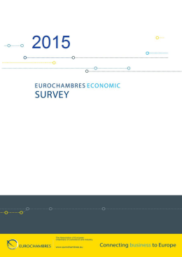 EUROCHAMBRES Economic Survey 2015