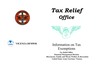 Tax Free Information Booklet