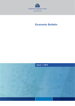 Issue 1 / 2015 - European Central Bank