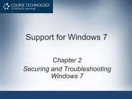 Support for Windows 7 - c-jump