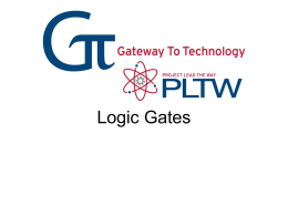 Logic Gates - Granbury ISD