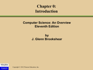 Chapter 0 - Mathematics, Statistics and Computer Science