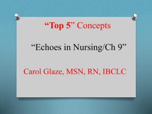 Nursing Knowledge Risjord Review of Chapter 9 *Echoes in Nursing*