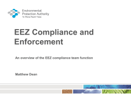 Session 4 EEZ Compliance and Enforcement Hui