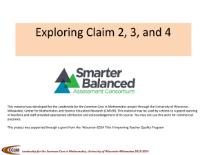 Exploring Claim 2, 3, and 4 Part 2