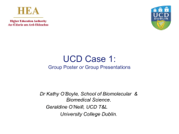 Case 1 KOBoyle - University College Dublin