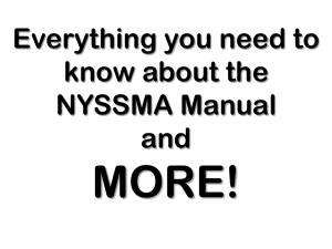 NYSSMA Manual Clinic Powerpoint - New York State School Music