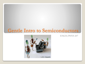 Intro to Semiconductors and Diodes []