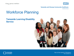 Workforce Planning - Pathways Associates & NWTDT