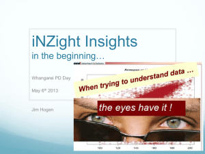 iNZight for Beginners