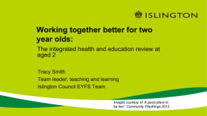 Islington-Slides - Early Intervention Foundation