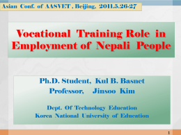 accreditation of technical education and vocational training in