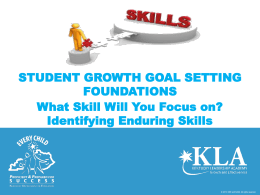 Enduring Skills -A Process for Identifying -Final