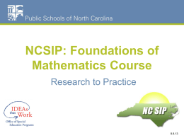 Unit 1 Foundations of Mathematics (PPT)