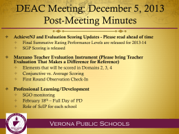 DEAC PowerPoint 12.5.13 - Verona School District