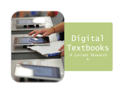 Katie Thomas - Digital Textbooks FINAL