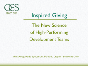 The New Science of High-Performing Development Teams
