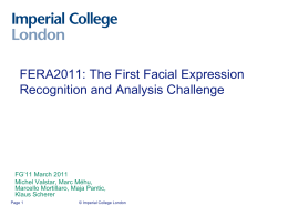 Facial muscle action analysis