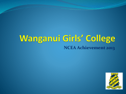 Wanganui Girls* College