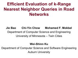 K-Range Nearest Neighbor in Road Networks