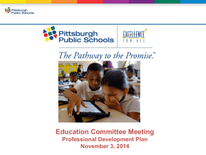 Plan Components - Pittsburgh Public Schools