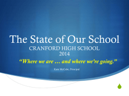 TEST - Cranford High School