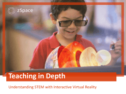 Understanding STEM with Interactive Virtual Reality