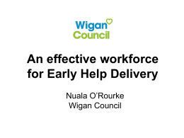 Wigan Early Help Conference