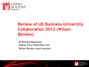 Wilson Review - Richard Blackwell