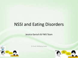 Presentation slides: Eating Disorders and Self