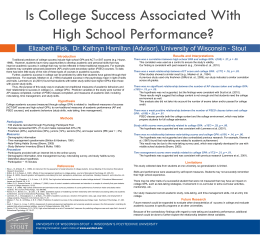 Is College Success Poster