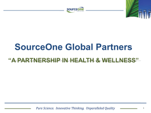 vesisorb-slide-show - SourceOne Global Partners