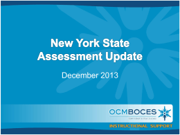 Update - OCM Boces