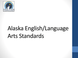 Grade 9-10 - Alaska Department of Education & Early Development