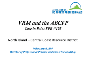 Mike Larock - NI – Central Coast RD FMLT 2015_01_22